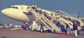 Keberangkatan Haji 2016 di Bandara Adisumarmo Solo