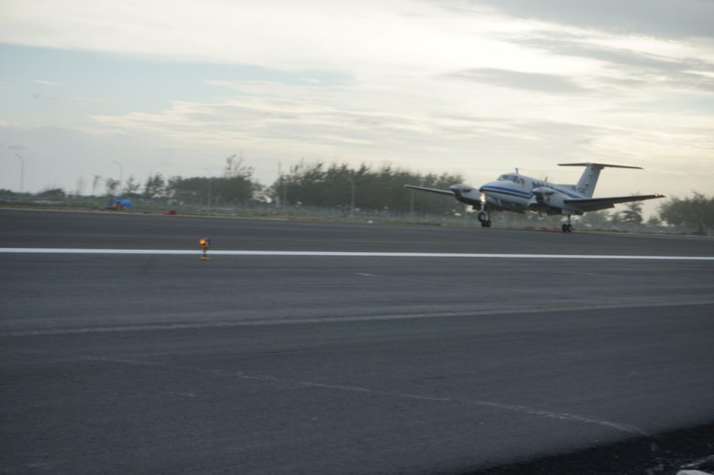 Pendaratan Perdana di Bandara YIA