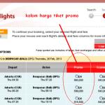 Lima Langkah Mencari Tiket Pesawat Secara Online