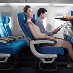 Baca Koran Bisa Nyaman Naik Pesawat Terbang