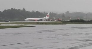 Pesawat Lion air Tergelincir Di Bandara Raden Inten II Lampung